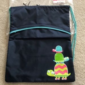 Thirty one cinch sac Navy with Topsy Turtles NWT